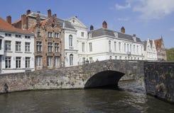 Bridge in Bruges, Belgium Royalty Free Stock Photos