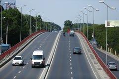 Bridge in Bucharest Stock Image