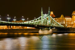 Bridge in Budapest Royalty Free Stock Photos