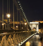 Bridge in Budapest Stock Image