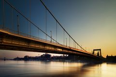 Bridge budapest 1 Stock Photography