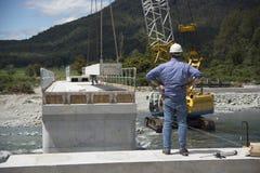Bridge builders Stock Image