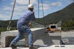 Bridge builders Stock Images