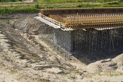 Bridge building Stock Photo