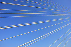 Bridge cables Royalty Free Stock Photography