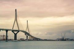 The bridge in Cadiz Stock Photos