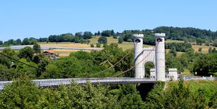 Bridge of the Caille, France Royalty Free Stock Photos