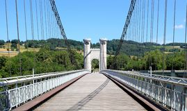Bridge of the Caille, France Stock Photography