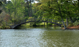 Bridge at Callaway Gardens Stock Images