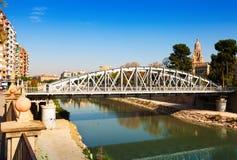 Bridge called Nuevo Puente in  Murcia. Spain Stock Photography
