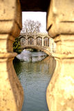 Bridge- Cambridge Royalty Free Stock Photos
