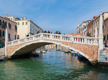 Bridge in the Cannaregio District Stock Photos