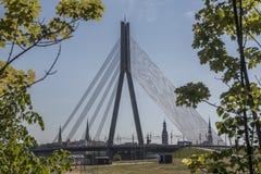 Bridge. Capital of Latvia. Eastern Europe Stock Image