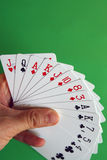 Bridge cards royalty free stock photography