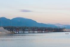 Bridge Cau Long Ho near Nha Trang city, Vietnam Royalty Free Stock Photos