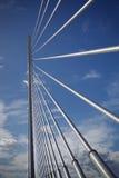 The bridge. In the center of Valencia, Spain royalty free stock photos