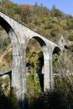 The bridge of Centovallina train on Centovalli valley Royalty Free Stock Image