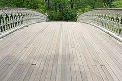 Bridge in Central Park Stock Photo