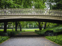 Bridge in Central Park, New York City Royalty Free Stock Photography
