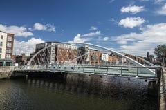 Bridge in the centre of Dublin, Ireland. Stock Photo