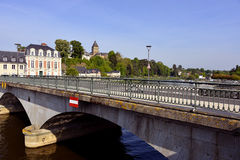 Bridge at Château-Gontier in France Royalty Free Stock Photos