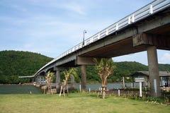 Bridge in chanthaburi. Thailand, beautiful view point Stock Photos