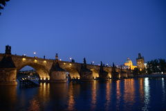 bridge charles Στοκ Εικόνες