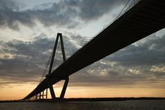 Bridge in Charleston Royalty Free Stock Photos