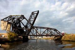 Bridge in Chicago Stock Photo