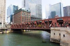 Bridge in Chicago Stock Photos