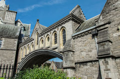 Bridge in Christ Church, Dublin Royalty Free Stock Photo
