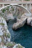 Bridge ciolo in Puglia Stock Photo