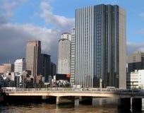 Bridge in the city Stock Photography