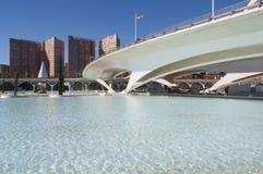 Bridge, City of Arts and Sciences, Valencia Stock Images
