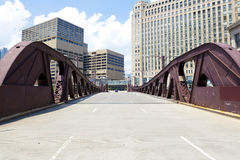 Bridge in city downtown Royalty Free Stock Photography