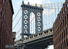 bridge city manhattan new york Στοκ φωτογραφία με δικαίωμα ελεύθερης χρήσης
