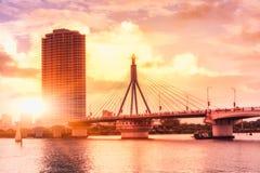 Bridge in the city Stock Image