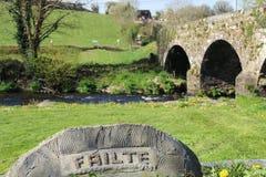 Bridge close to Millstreet in County Cork Ireland Royalty Free Stock Image