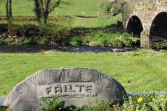 Bridge close to Millstreet in County Cork Ireland Royalty Free Stock Photos