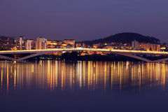 Bridge in Coimbra Royalty Free Stock Images