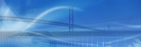 Bridge concept Royalty Free Stock Photography