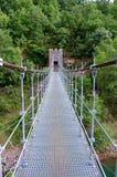 Bridge in Congost de Mont-rebei Stock Images