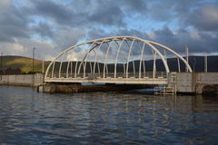 Bridge connecting achill island  Royalty Free Stock Image