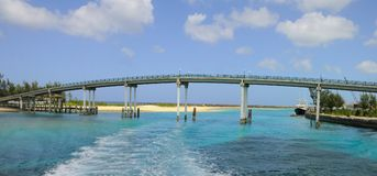 Bridge Connecting Two Islands Stock Image