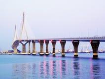 Bridge of the Constitution, called La Pepa, in the bay of Cadiz Royalty Free Stock Photo
