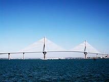Bridge of the constitution, called the Pepa Stock Photo
