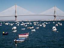 Bridge of the constitution, called the Pepa Stock Photos