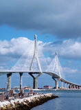Bridge of the constitution, called the Pepa Royalty Free Stock Photography