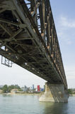 Bridge Construction. Detail Belgrade, Serbia Royalty Free Stock Image