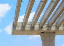 Bridge construction Stock Image
